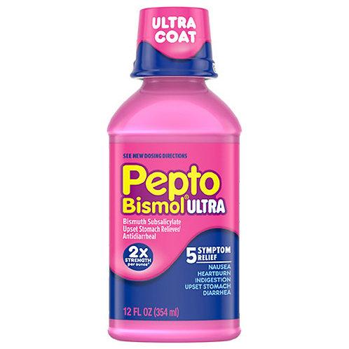 Pepto Bismol Ultra P&G: 2X Strength 12fl.oz.