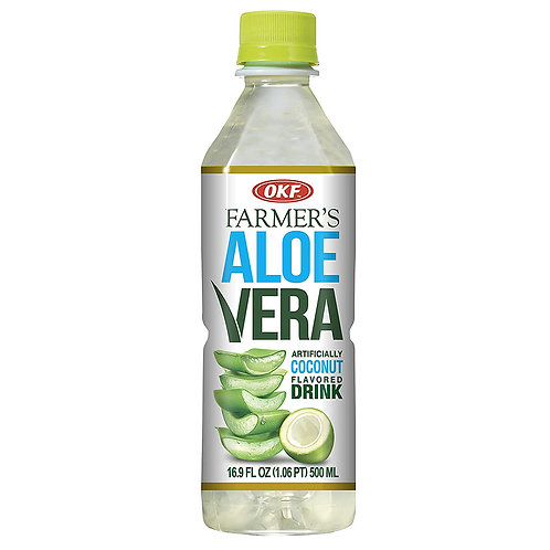 OKF Farmer's Aloe Vera Drink: Original 16.9oz