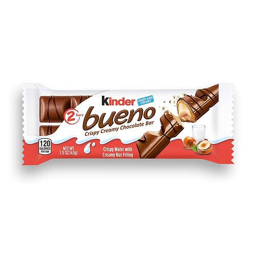 Kinder Bueno Crispy Creamy Chocolate Bar, 1,5oz
