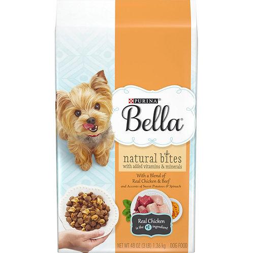 Purina Bella Natural Bites Real Chicken&Beef 48 oz