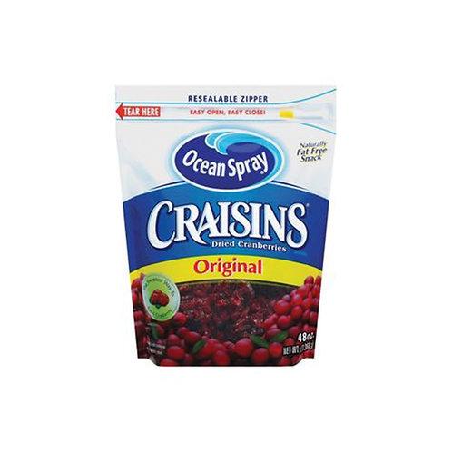 Craisins Dried Cranberries Ocean Spray 48 oz