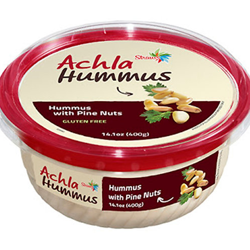 Achla Hummus / Hummus With Pine Nuts 14.1oz