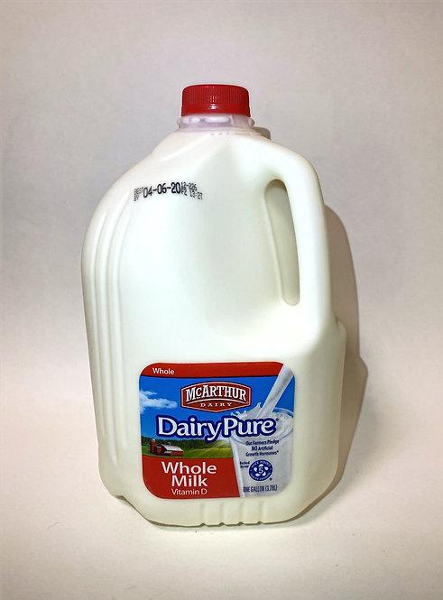 McArthur Dairy Pure: Whole Milk 1gallon