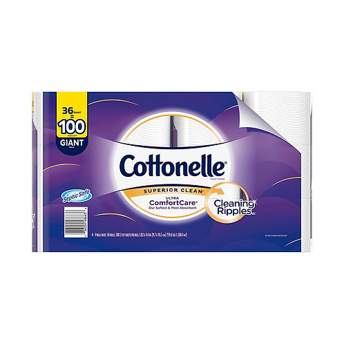 Cottonelle Superior clean Ultra Comfort Care 36=100 GIANT