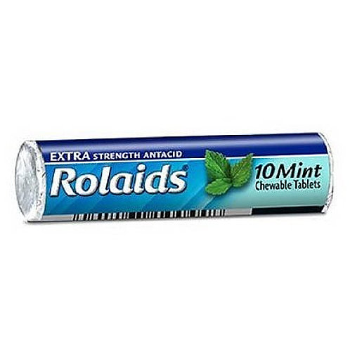 ROLAIDS ANTACID CHEWABLE TABLE