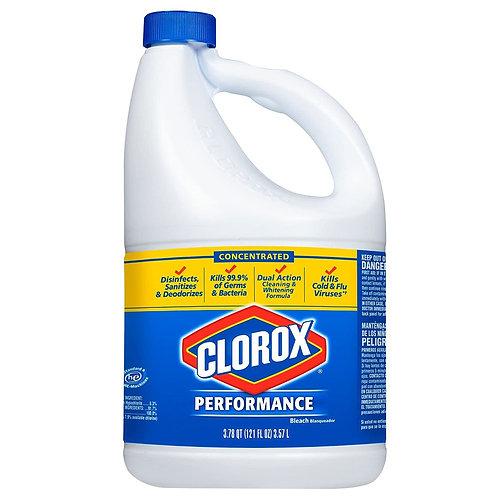 Clorox Perfomance Bleach Kills 99,9% Of Germs, 3,78qt 121 Fl