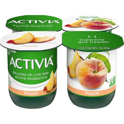 Activia Peach 113g