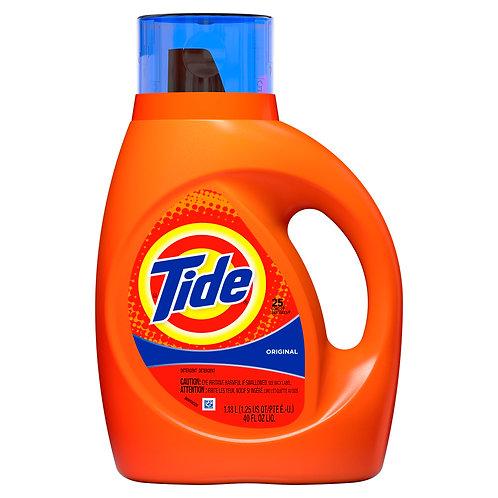 Tide Detergent: Original 25 loads 40fl.oz