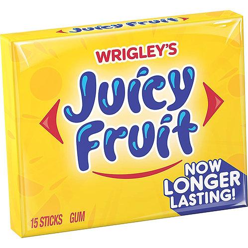 Wrigley's Juicy Fruit 15 Sticks