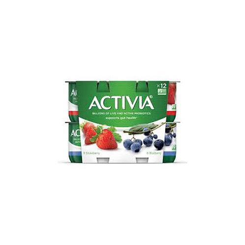 Activia Probiotic Yogurt: Strawberry 4oz