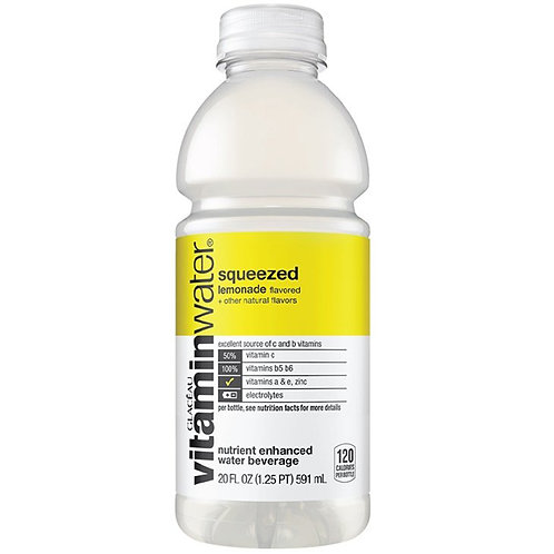 VITAMINWATER SQUEEZED, 20 Fl Oz