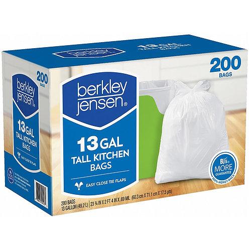 Berkley Jensen: TALL KITCHEN 13 GAL 200 Bags