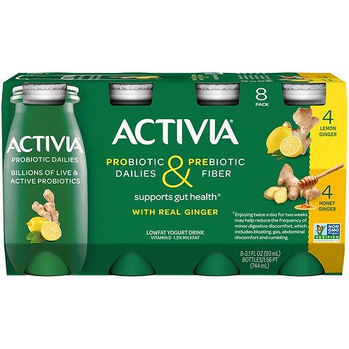 Activia Probiotics Lowfat Yogurt Drink: Lemon Ginger 3.1fl.oz