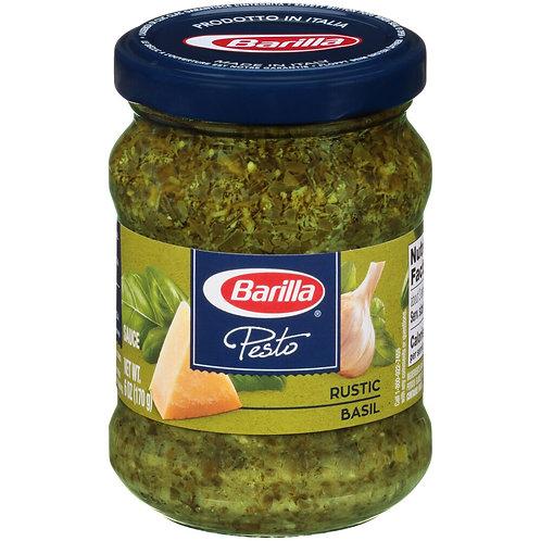 Barilla Pesto Rustic Basil 6 oz