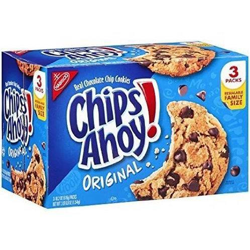 Chips Ahoy Real Chokolate Chip Cookies Original 1 LB 2.2 oz