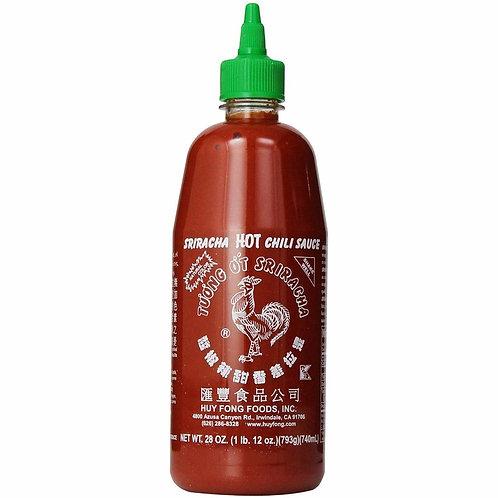 Sriracha Hot Chili Sause 28oz