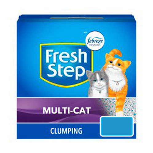 Fresh Step Multi-Cat Clumping Cat Litter 9.5 LB