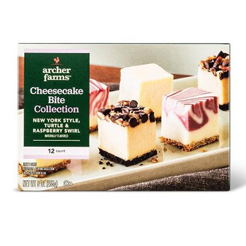 Cheesecake Bites Variety Pack: NY Style, Turtle & White Chocolate Raspberry 0.74