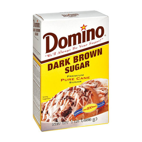 Domino Dark Brown Sugar 16oz (1LB)