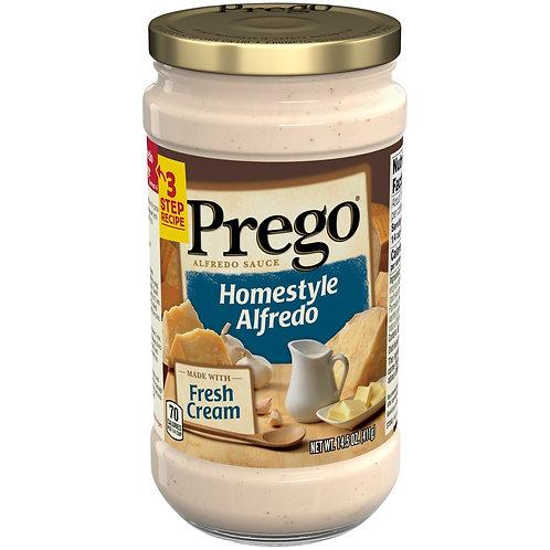 PREGO Homestyle Alfredo with Fresh Cream 14.5 oz