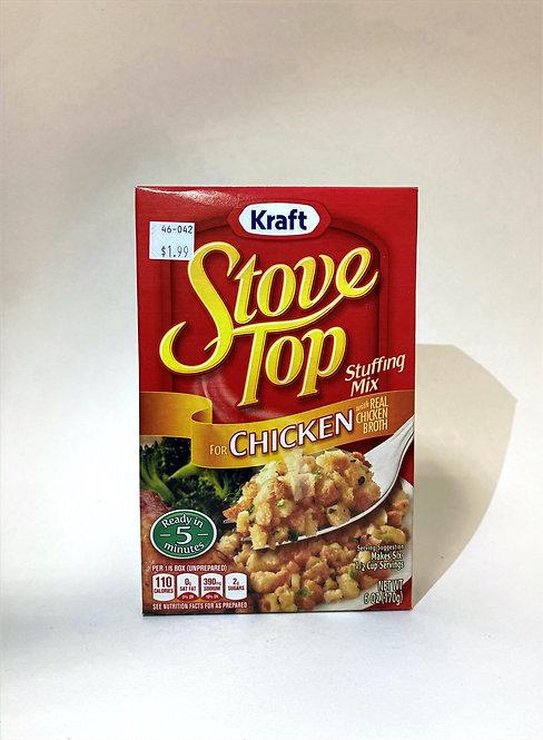 Kraft Stove Top Stuffing Mix Chicken 6oz