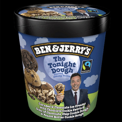 Ben&Jerry's Ice Cream: The Tonight Dough, 473ml