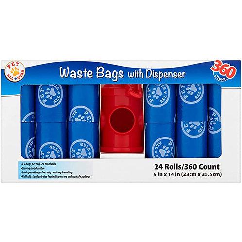 Pet All Star Waste Bags rolls 9in*14in