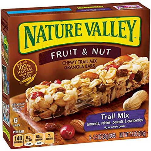Nature Valley Fruit&Nut Chewy Granola Bars 1.2 oz