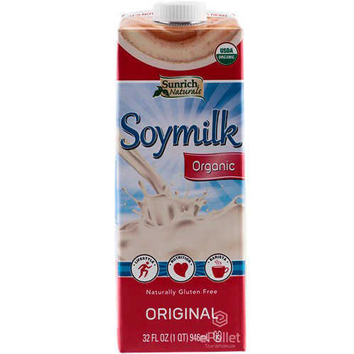 Sunrich Naturals: Soymilk Organic: Vanilla 32fl.oz