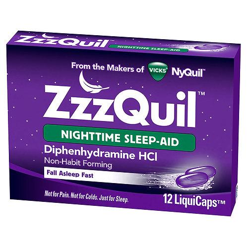 ZzzQuil Nighttime Sleep-aid 12ct