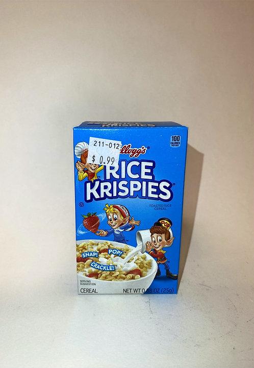 KELLOGY'S RICE Krispies 0.88oz