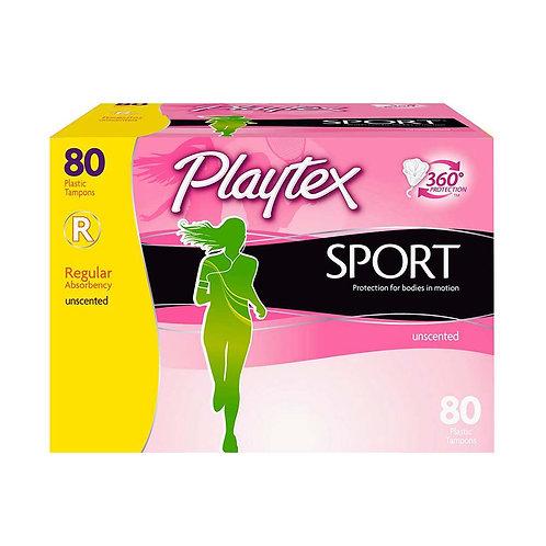 Tampons Playtex Sport Regular 80ct