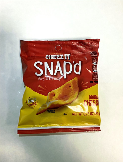 Cheez-it snap'd Double Cheese, 0.75 oz