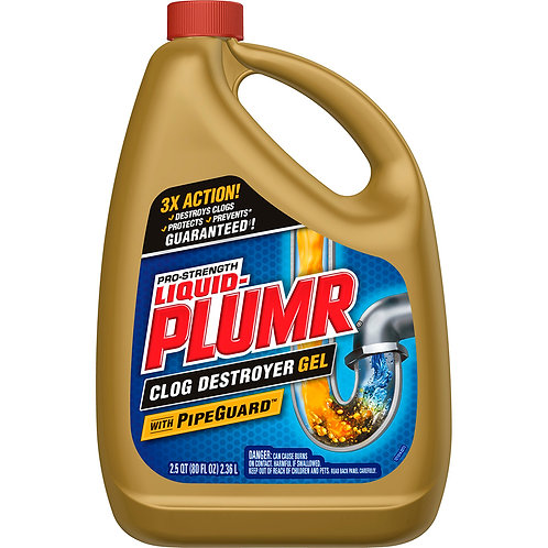 Plumer PRO-strength Gel with PipeGuard 80oz