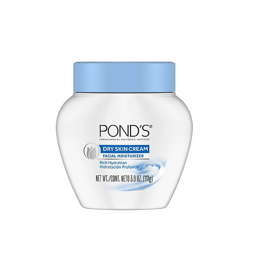 POND'S DRY SKIN CREAM facial moisturizer 3.9.oz