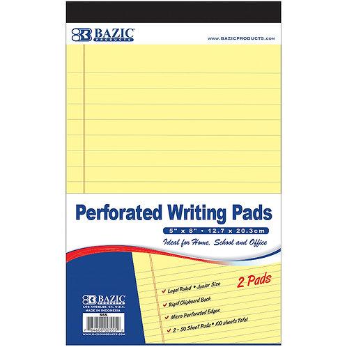 Bazic Canary Writing Pads 2