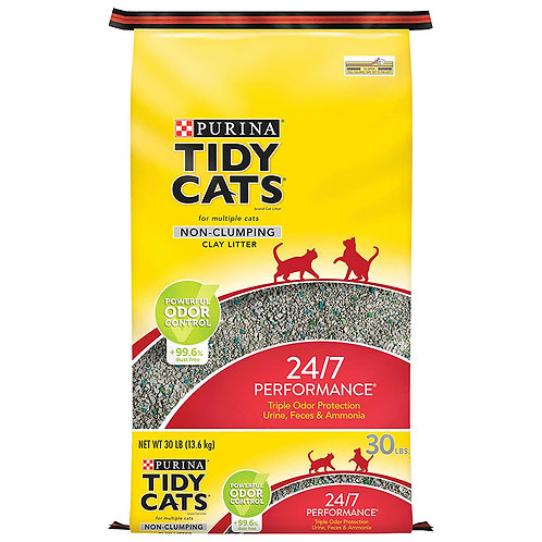 Purina Tidy Cats non-clumping 24/7 performance