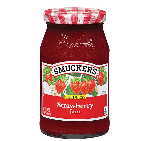Smuckers Strawberry Jelly  12 oz