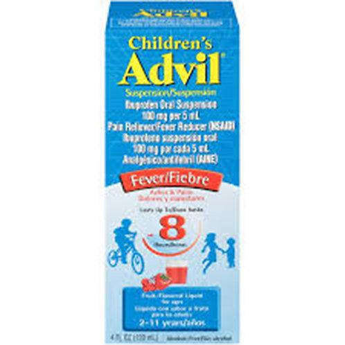 Advil ChildrenIbuprofen Oral Suspesion Pain Reliever/Fever Reducer  100mg per 5