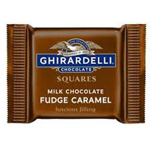 Ghirardelli Chocolate Individual: Fudge Caramel 15g