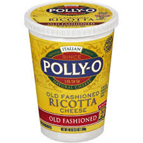 Polly-O Old Fashioned Ricotta Cheese 3 LB
