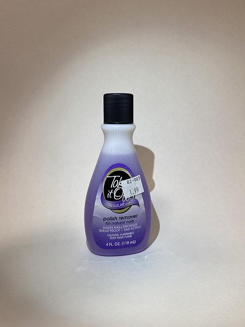 Nail polish remover Take it Off 4 oz