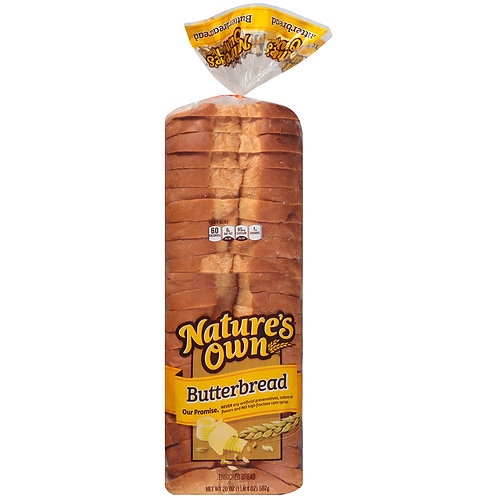 Nature's Own Butterbread 20oz