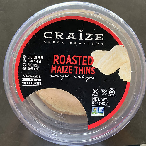 Craize Maize Thins: Roasted 5oz