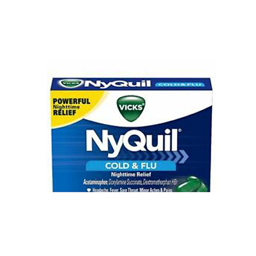 NyQuil Cold & Flu 16pc