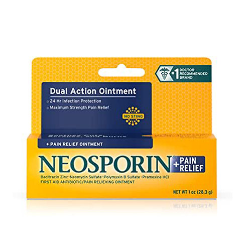 Formulated with neomycin sulfate, bacitracin zinc and polymyxin B antibiotic ing