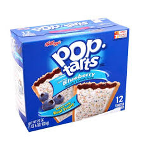 Pop-Tarts Frosted Blueberry 12pcs