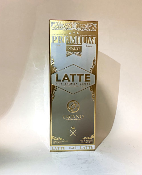 Coffee Organo Premium Qualite Latte 14.08 oz