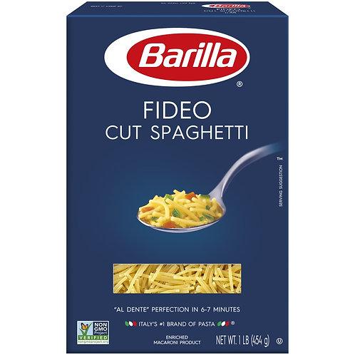Barilla Fideo Cut Spaghetti 1 LB