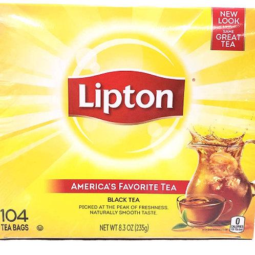 Lipton Black Tea 104 Tea Bags